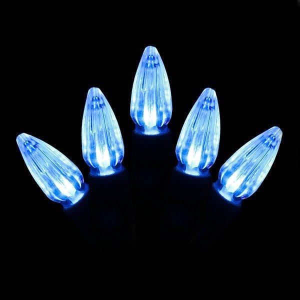 Blue C3 LED string light