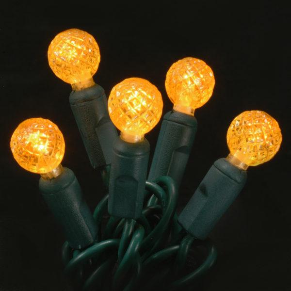 Orange G12 LED light string