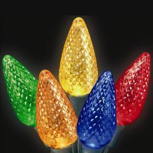 Multi-colored C9 LED light string
