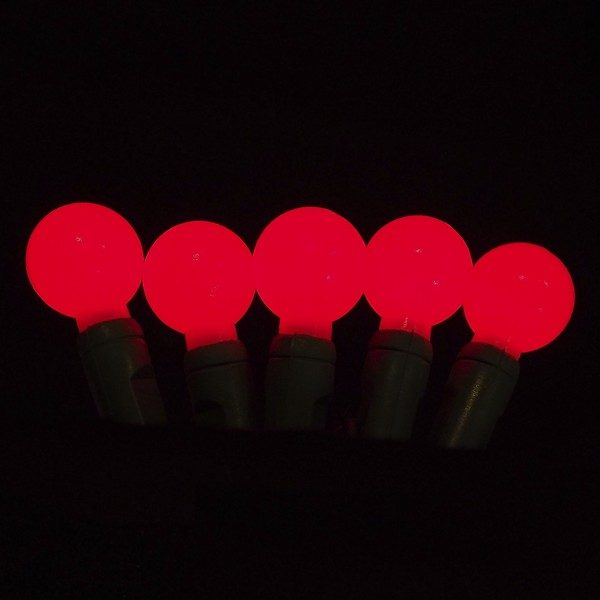 Red G20 LED glow light string